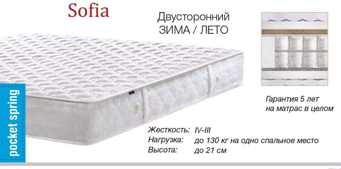 Матрас Sofia характеристики